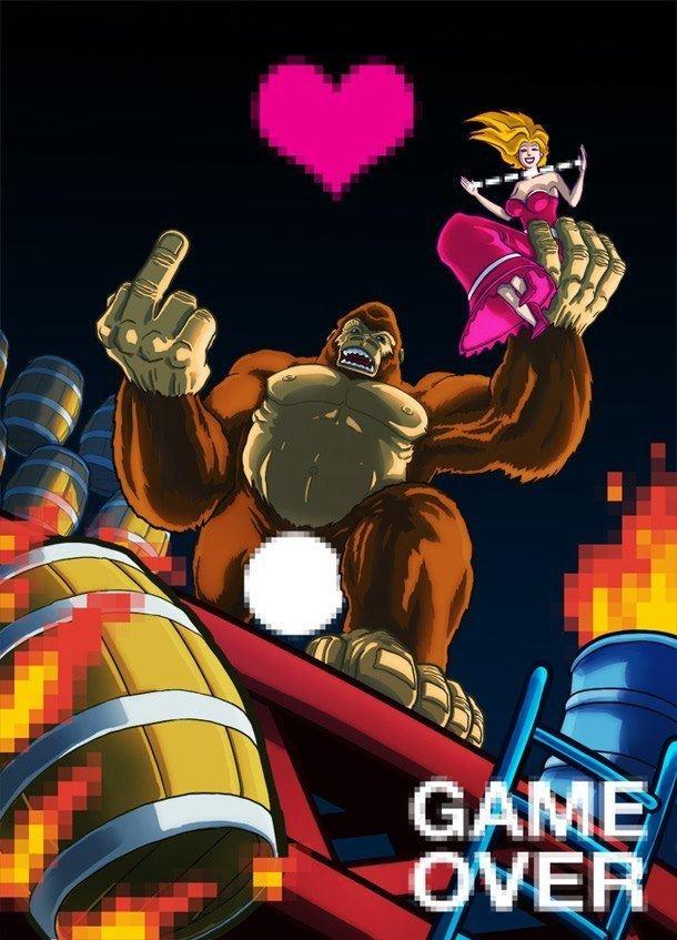 Andrea Gadaldi Game Over by Andrea Gadaldi gaming