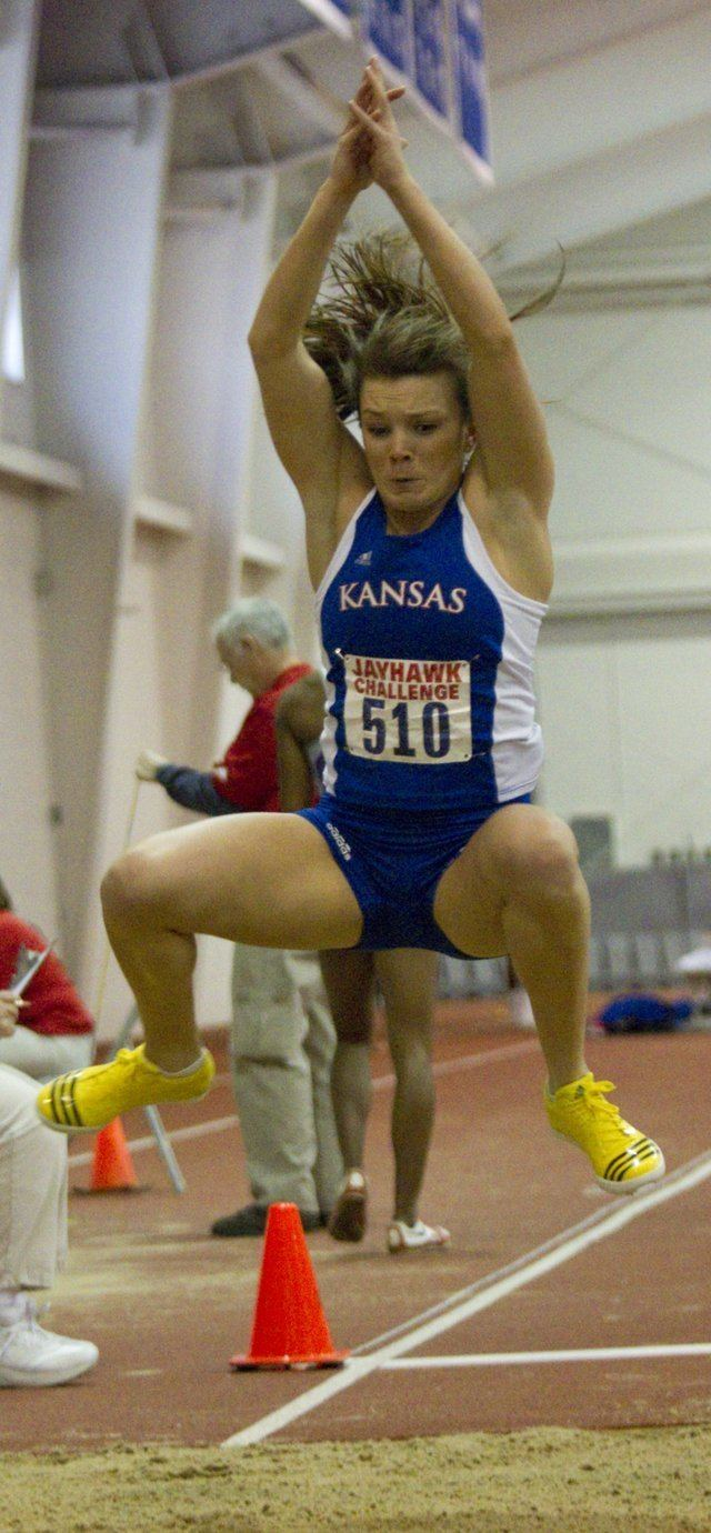 Andrea Geubelle Photo Kansas University39s Andrea Geubelle competes in the