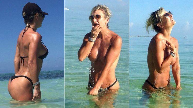 Andrea Ghidone Las sensuales fotos de Andrea Ghidone en las playas de