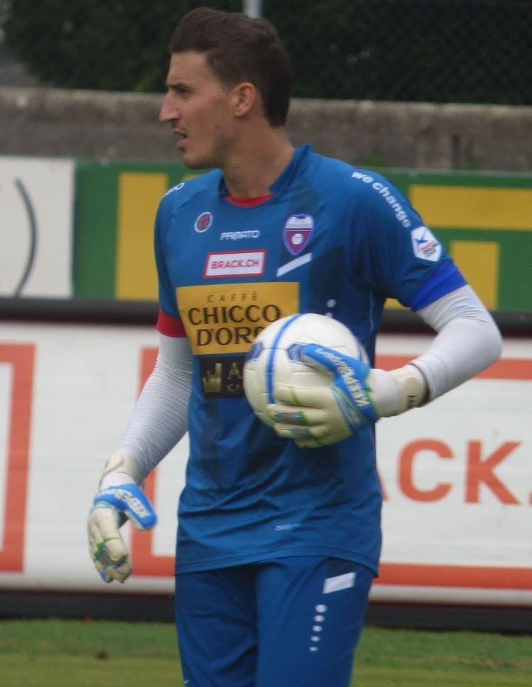 Andrea Guatelli CHalcio Calcio Svizzero Man of the Match Andrea Guatelli