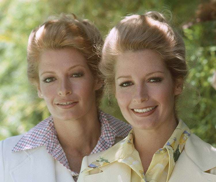 Andrea Hall Deidre Hall and Twin Sister Andrea Hall on Days of Our Lives CBS