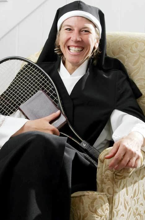 Andrea Jaeger Why I became a nun by former tennis star Andrea Jaeger