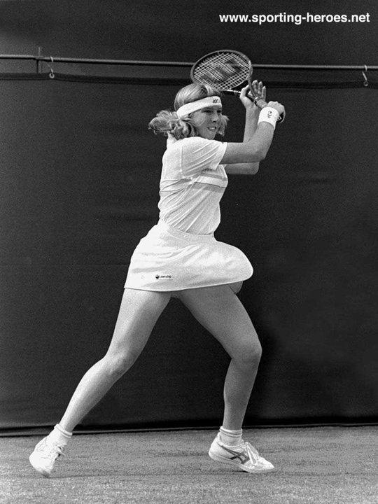 Andrea Jaeger Andrea Jaeger Wimbledon 1983 RunnerUp USA