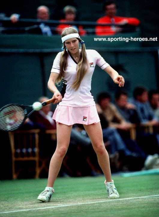 Andrea Jaeger Andrea Jaeger French Open 1982 RunnerUp USA
