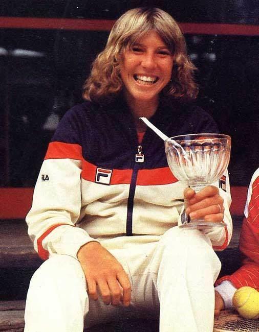 Andrea Jaeger Fila tracksuit 1982 Andrea Jaeger