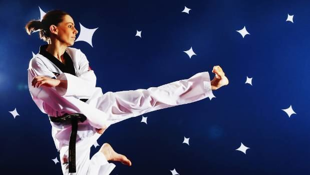 Andrea Kilday NZ taekwondo Olympian Andrea Kilday getting to Rio the hard way