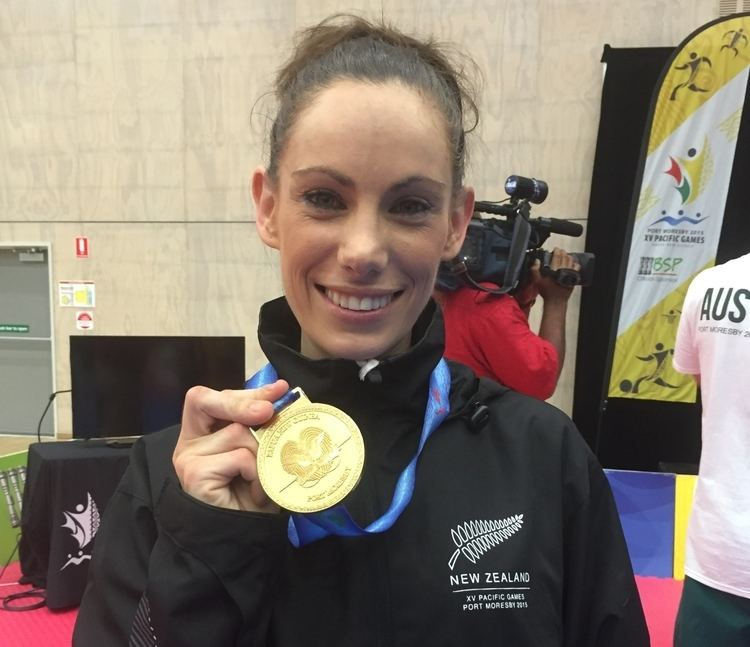 Andrea Kilday First Pacific Games gold for New Zealand Oceania National Olympic
