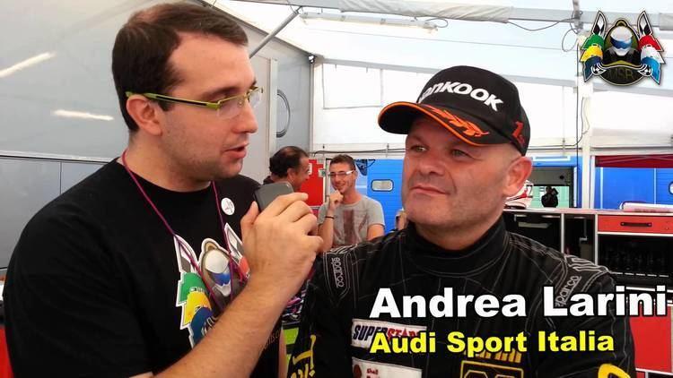 Andrea Larini Intervista a Andrea Larini Superstars World Vallelunga 2013 gara