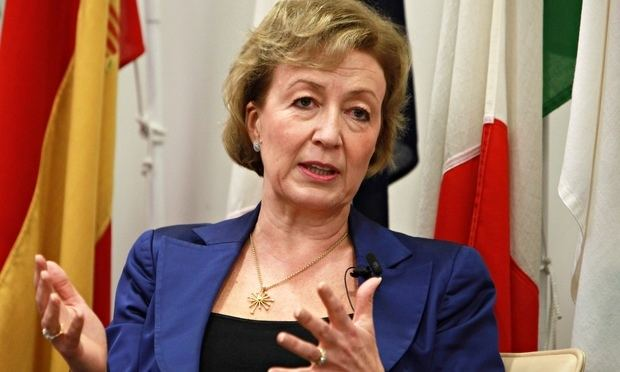 Andrea Leadsom Top Tory has family link with offshore banker who gave
