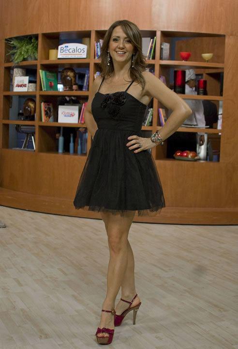 Andrea Legarreta Quincom Andrea Legarreta presume las mejores piernas a