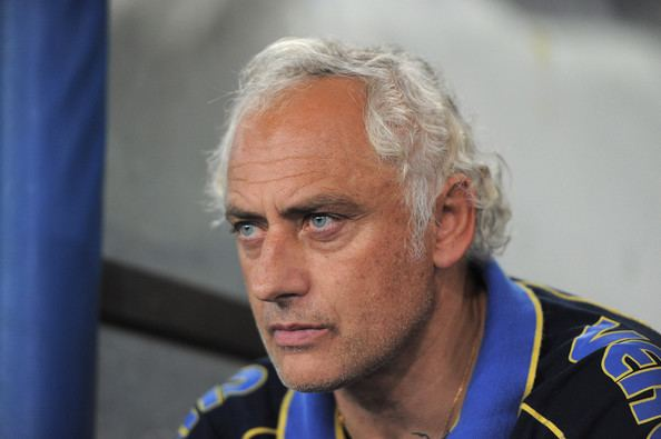 Andrea Mandorlini Andrea Mandorlini Pictures Hellas Verona FC v Reggina