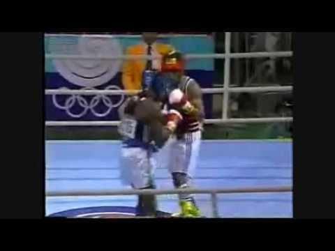 Andrea Mannai Arthur Flash Johnson vs Andrea Mannai Seoul Olympics 1988 YouTube