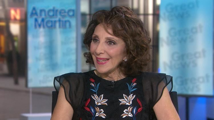 Andrea Martin (canoeist) Andrea Martin talks about new show Great News and her show biz