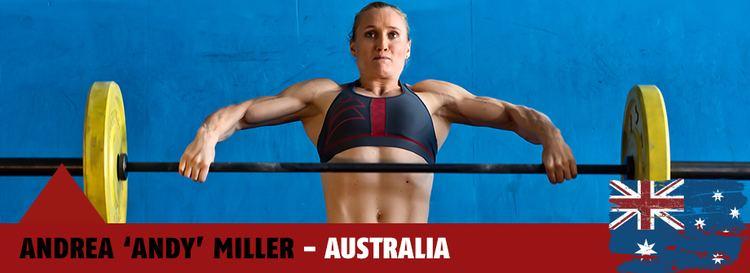 Andrea Miller (athlete) Andrea Miller