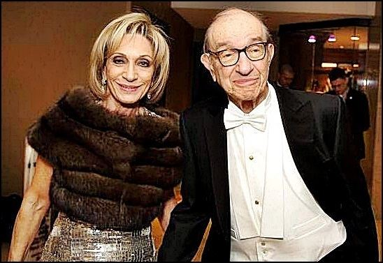 Andrea Mitchell Andrea Mitchell and Husband Alan Greenspan getting a divorce because
