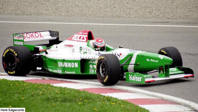 Andrea Montermini 1996 Forti FG03 Ford Andrea Montermini 1996 Formua 1