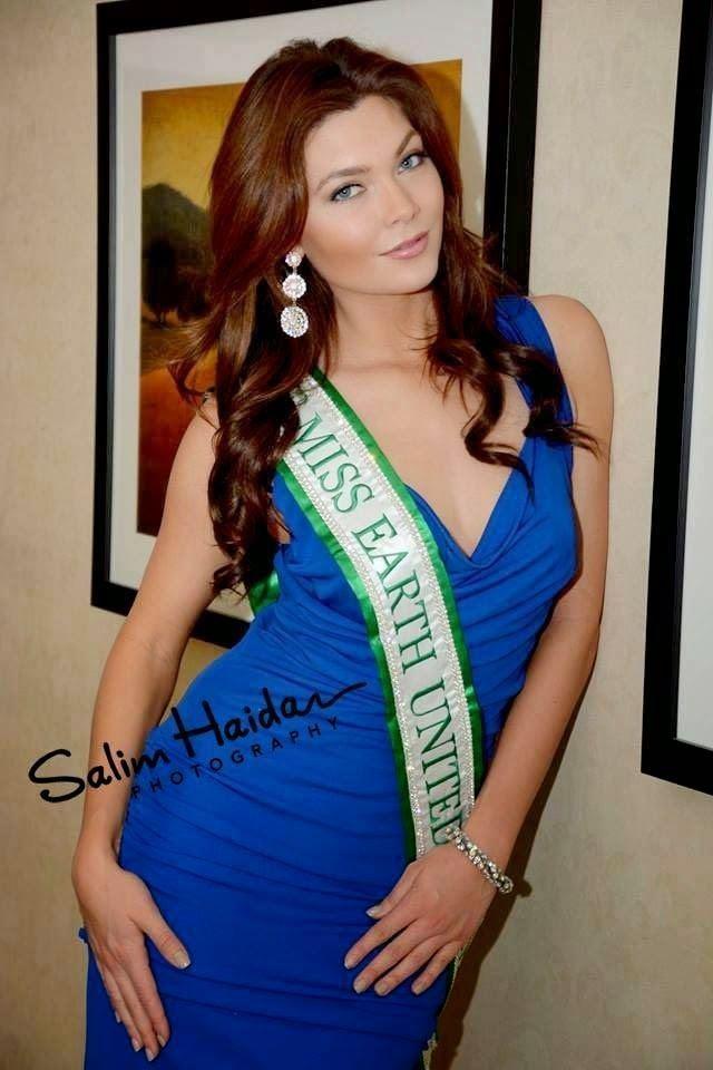 Andrea Neu O Universo dos concursos Miss USA Earth 2014 Andrea Neu