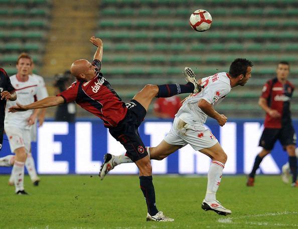Andrea Parola Andrea Parola in AS Bari v Cagliari Calcio Serie A Zimbio