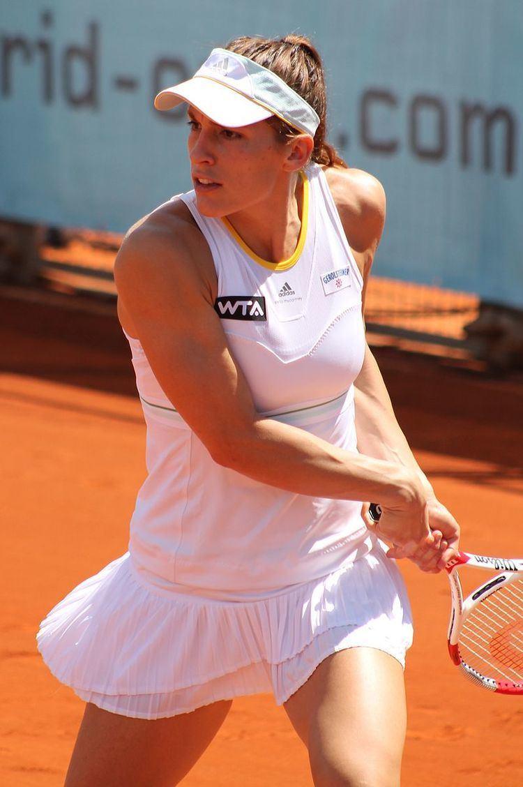 Andrea Petkovic career statistics