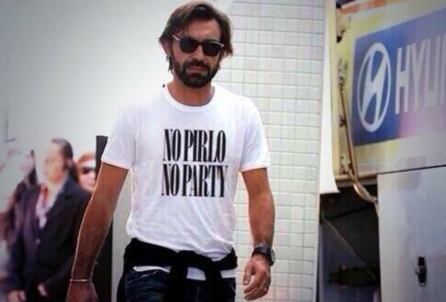Andrea Pirlo Andrea Pirlo The one moment he became the coolest footballer on