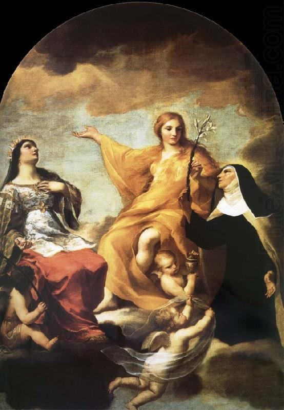 Andrea Sacchi The three Mary magdalene Andrea Sacchi Wholesale Oil