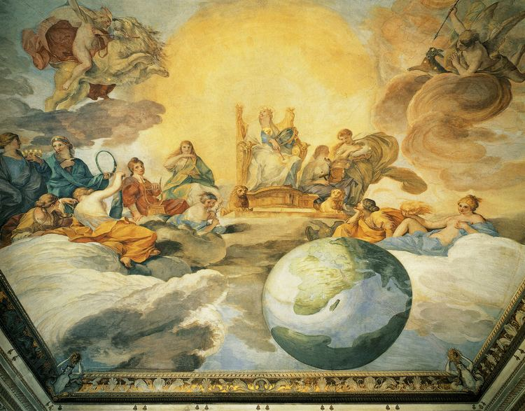 Andrea Sacchi Andrea Sacchi Allegory of Divine Wisdom in Palazzo