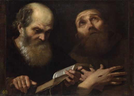 Andrea Sacchi Andrea Sacchi Saints Anthony Abbot and Francis of Assisi