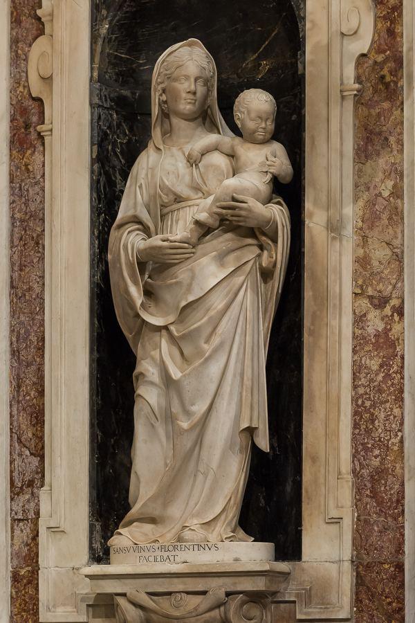 Andrea Sansovino statua della Madonna Andrea Sansovino cattedrale di S Flickr