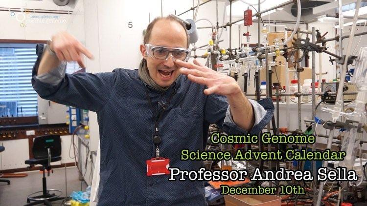 Andrea Sella December 10th Andrea Sella Cosmic Genome Science Advent Calendar
