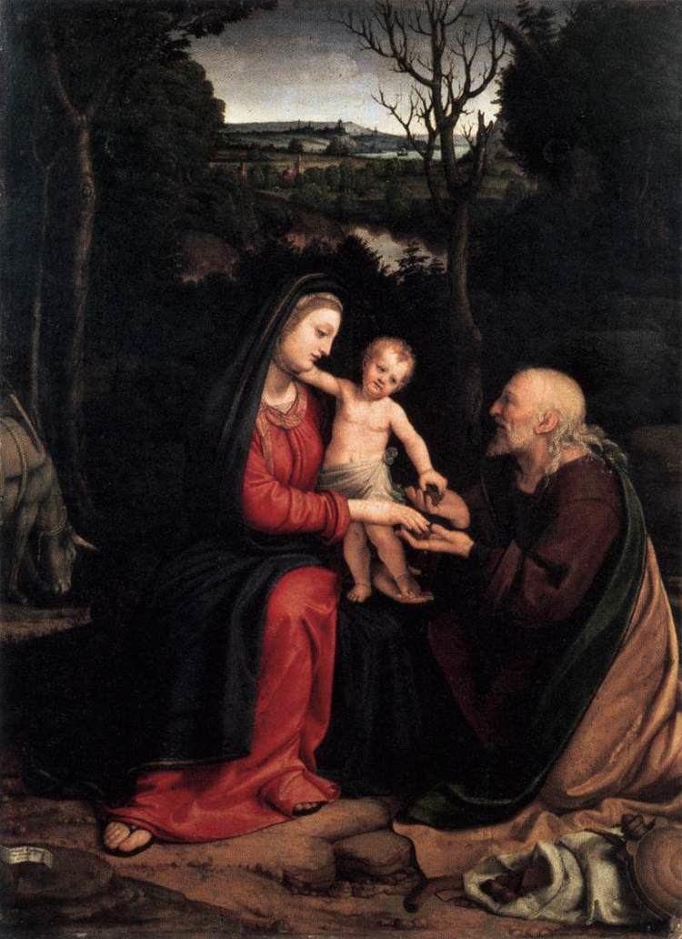 Andrea Solari ancient Paint Art Gallery Art Painters Picture Image