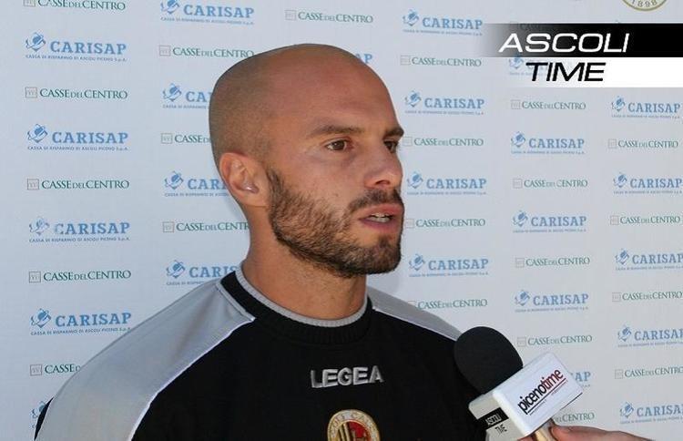 Andrea Soncin Ascoli Calcio Fabiani Soncin ha deciso di andare via