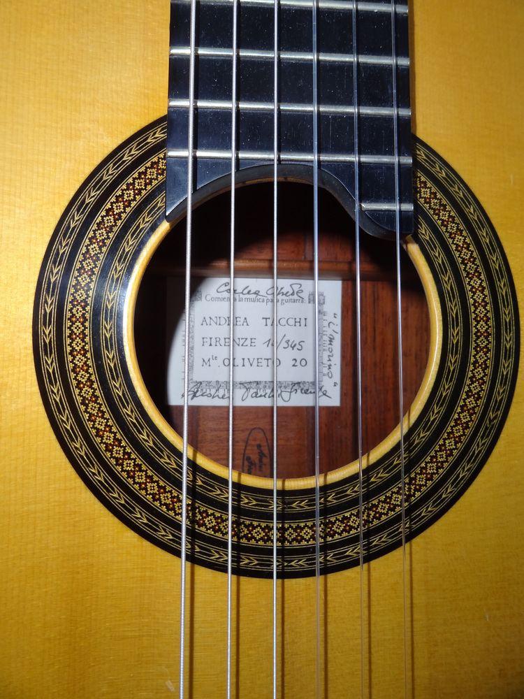 Andrea Tacchi Andrea Tacchi Coclea Spruce 2010 Guitar Foundation of