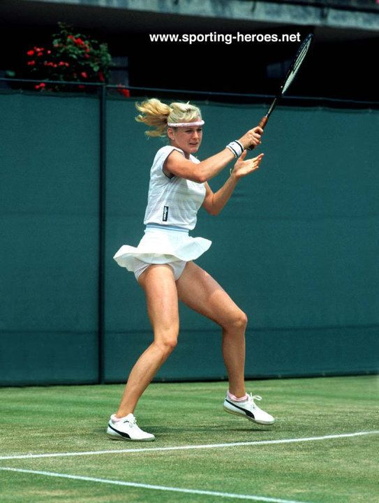 Andrea Temesvari Andrea Temesvari Wimbledon 1984 Last 16 Hungary