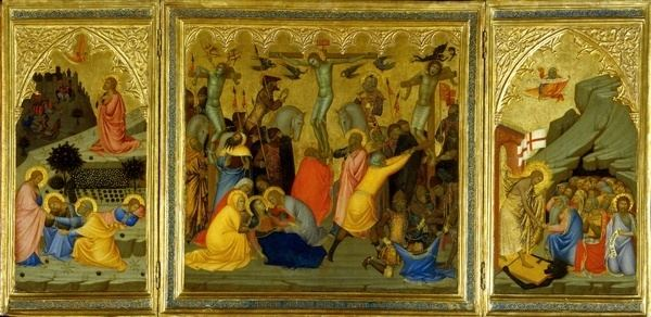 Andrea Vanni Andrea Vanni Sienese c 1332c 1414 A Triptych Agony