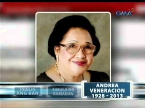 Andrea Veneracion UP Madrigal Singers39 founder Andrea Veneracion passes away