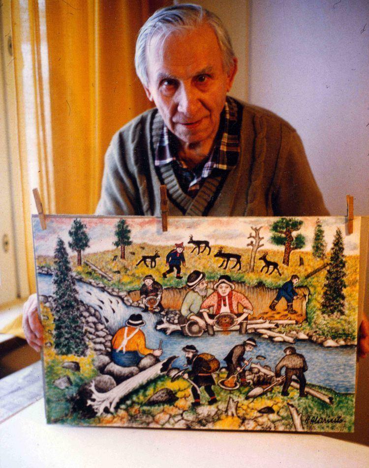 Andreas Alariesto Kullankaivu toi Inarin maailmankartalle Kultahippufi