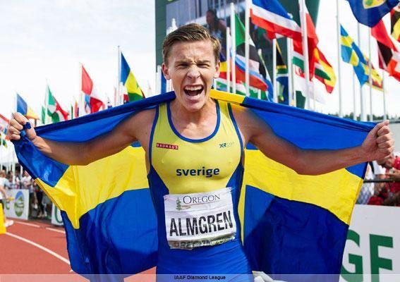 Andreas Almgren JVMmedaljren Andreas Almgren mot vrldens bsta p DN
