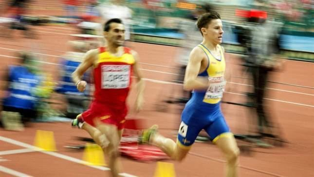 Andreas Almgren Andreas Almgren till final i inomhusEM Friidrott