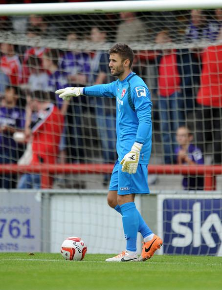 Andreas Arestidou Andreas Arestidou Pictures Morecambe v Dundee Pre
