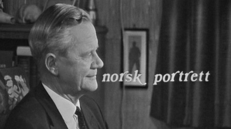 Andreas Aulie NRK TV Norsk portrett Andreas Aulie 17111967