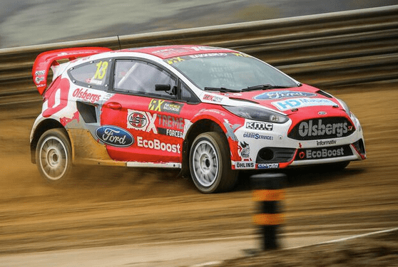 Andreas Bakkerud Andreas Bakkerud FIA World Rallycross Championship 2014