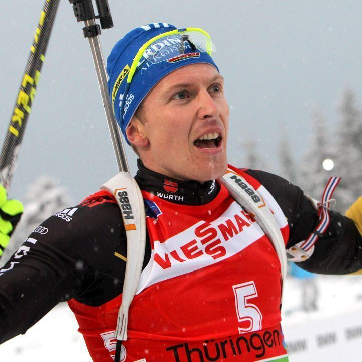 Andreas Birnbacher Germany39s Neuner and Birnbacher Take IBU Mass Start Races