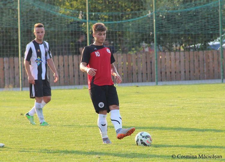 Andreas Calcan U Cluj a debutat cu dreptul n Liga a 2a Calcan a adus