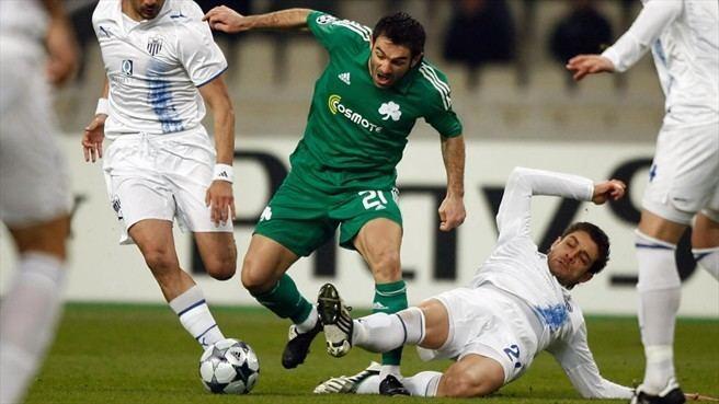 Andreas Constantinou Giorgos Karagounis Panathinaikos FC Andreas Constantinou