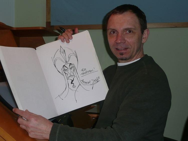 Andreas Deja Andreas Deja in Thorsten Brmmel39s Animation Art Comic