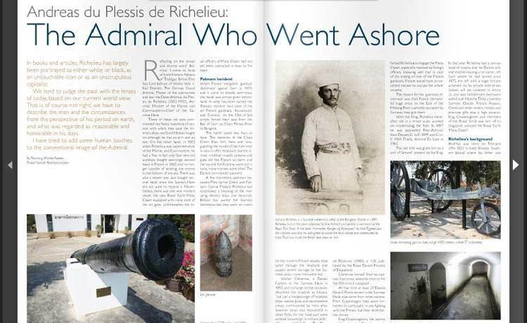 Andreas du Plessis de Richelieu Andreas du Plessis de Richelieu The Admiral Who Went Ashore ScandAsia