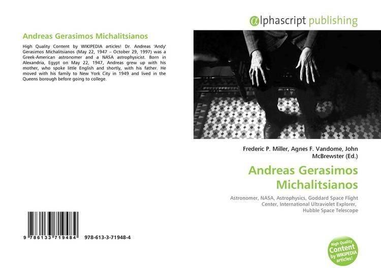 Andreas Gerasimos Michalitsianos Andreas Gerasimos Michalitsianos 9786133719484 6133719486