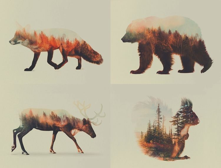 Andreas Lie DoubleExposure Photographs Let You See Your Favourite
