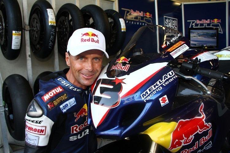 Andreas Meklau SPEEDWEEK SuperbikeWM PannoniaRing Meklau Laverty und Lowes