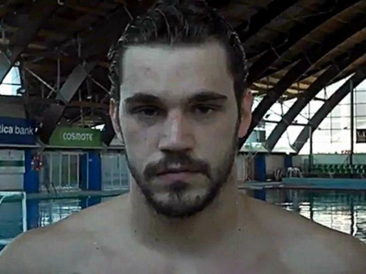 Andreas Miralis Greek water polo player Andreas Miralis London 2012 Olympics